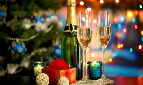 Новогодний вечер в Лучесе