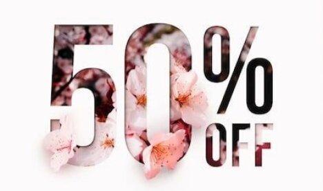Скидка 50% при одноместном размещении